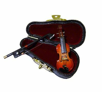 Miniature Violin in Case #MM100 Vemars Products 1//12th Scale