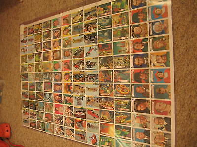 1968 Topps Non Sport Multi Series Uncut Sheet- 2 Babe Ruth cards! Finished Backs