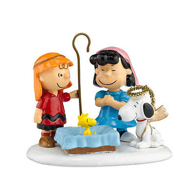 """Dept 56 """"peanuts Pageant"""" Charlie Brown Snoopy Lucy #808964  * Free Shipping"""