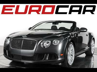 2014 Bentley Continental GT Speed Convertible 2014 Bentley Continental GT Speed - Stunning Mulliner Driving Specification!