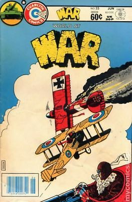 War (1975 Charlton) #33 VG LOW GRADE