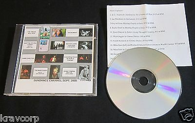Radiohead/rolling Stones—2000 Promo Photo Cd-Rom—Sundance Channel
