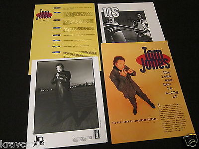 Tom Jones 'The Lead And How To Swing It' 1994 Press Kit—Photo