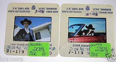 Talking Heads—Two 1986 Color Photo Slides