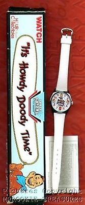 Howdy Doody Watch 1986 - 87 40th Anniversary Watch with Case MIB