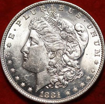 Uncirculated 1881-O New Orleans Mint Morgan Dollar Free Shipping