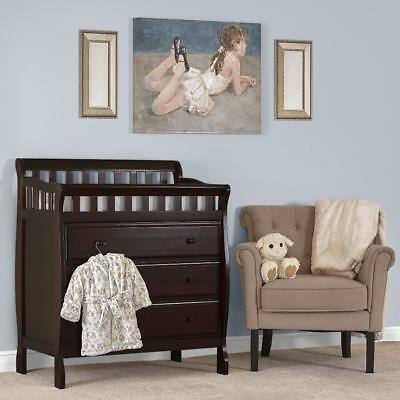 Dream On Me Marcus Changing Table and Dresser - Espresso