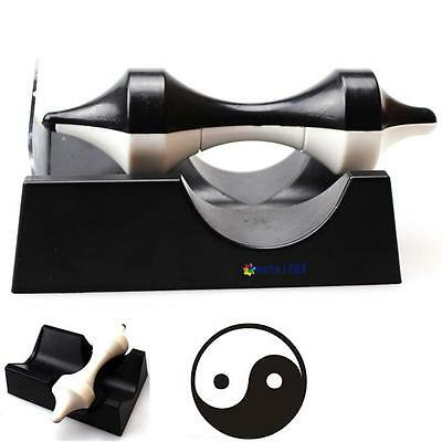 Black Anti Gravity Revolution Magnetic Levitation Device Science Education Toy
