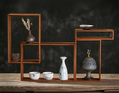 Wooden Crafted Free Combination Display Stand For Vase etc. Figurine Home Decor
