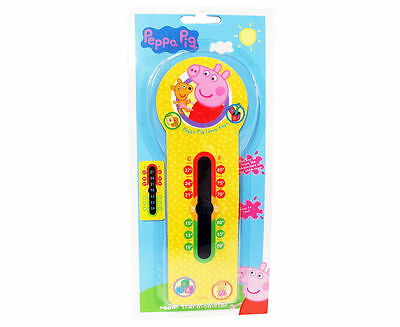 NEW Peppa Pig Room Thermometer Baby Toddler Fun Temperature Safety FREE POST