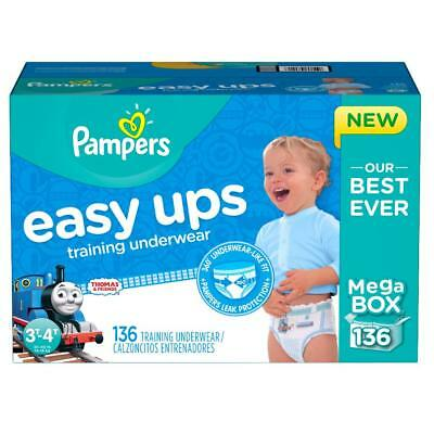 Pampers Easy Ups Thomas and Friends Training Underwear for Boys 3T-4T Mega Pack