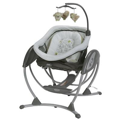 Graco DreamGlider 2-in-1 Gliding Swing and Sleeper - Percy