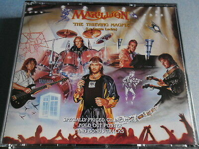 MARILLION - THE THIEVING MAGPIE - 2 CD's - (EMI,1988) Erstauflage mit Miniposter