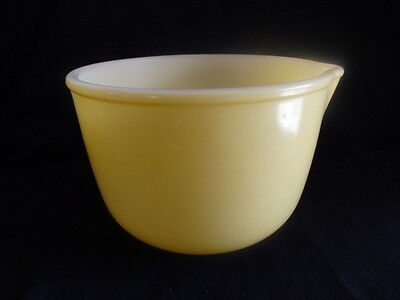 Small Yellow Bowl from Vintage Sunbeam Mixmaster