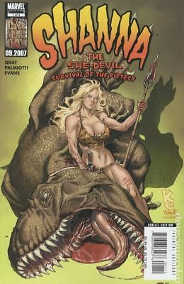 Shanna The She-Devil Survival of the Fittest (2007) #1 FN