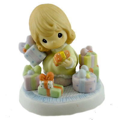 Precious Moments A TINY TOT WITH HER EYES ALL AGLOW Christmas Gifts 710009