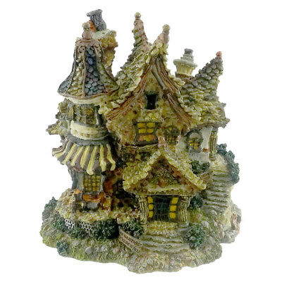 Boyds Bears Resin TRUMBLES MANSION Resin Bearly-Built Villages 19020 RFB