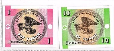 1996? Ukraine   2 Bank Notes Or Coupons Unc