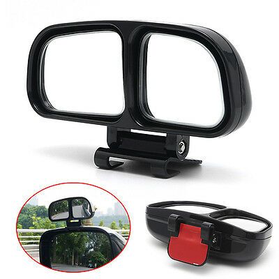 Universal Car Auto Wide Angle Rear Side View Blind Spot Square Mirror Left