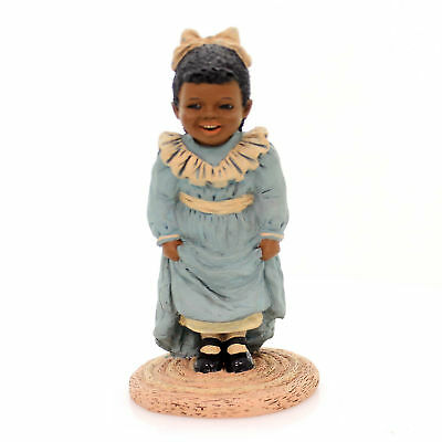 All Gods Children BEVERLY Polyresin African American Black 3525