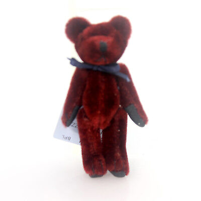 Boyds Bears Plush THISBEY F. WUZZIE Fabric Teddy Bear Mini Jointed 59516002