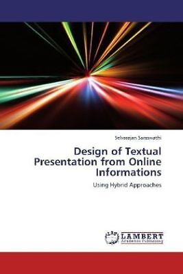 Selvarajan Saraswathi - Design of Textual Presentation from Online Informat NEU