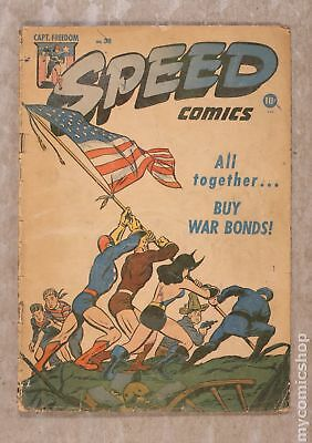 Speed Comics (1941) #38 GD 2.0