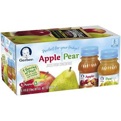 Gerber Apple and Pear Juice 4 Ounce - 8 Pack