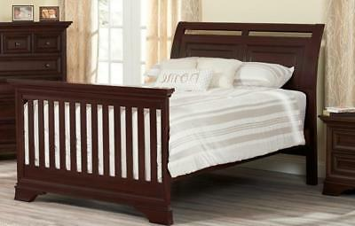 Oxford Baby Promenade Park Full Size Bed Conversion Kit - Cherry Ash
