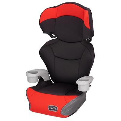 Evenflo Big Kid High Back Booster Car Seat - Cardinal Red