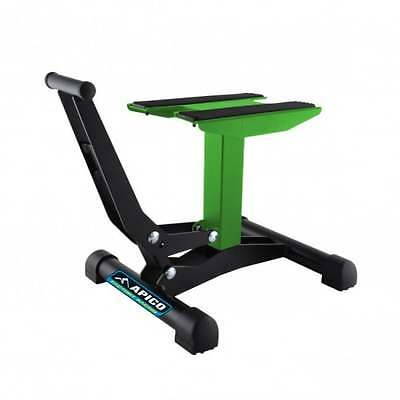 Apico Xtreme Jack Up Lift Up MX Motocross Enduro Off Road Bike Stand - Green