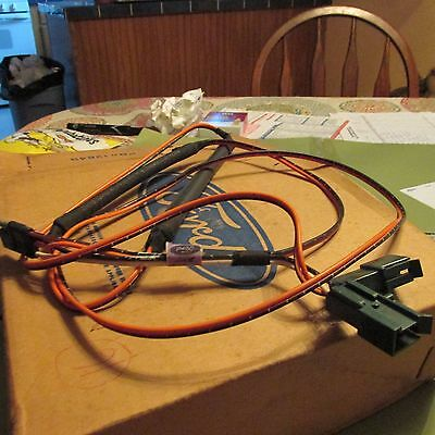 NOS 1974 - 1978 Ford Mustang Ii Stereo Radio Speaker Wiring ... Ford Mustang Wire Harness Radeo on