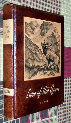 Lure of the Open,Godfrey,Dufresne,VG-,Leather, 1949,First   war31