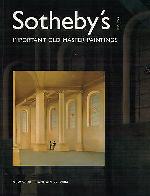 Sotheby's 22.01.2004 Important Old Master Paintings