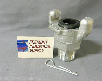 """3/4"""" male NPT Universal Air Coupling Crows Foot Chicago Fitting"""
