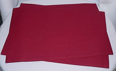 Longaberger Paprika Placemats Set Of Two 2 - New