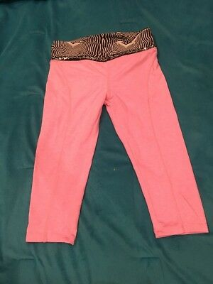 California Kisses Dance Capri Pants Size CL