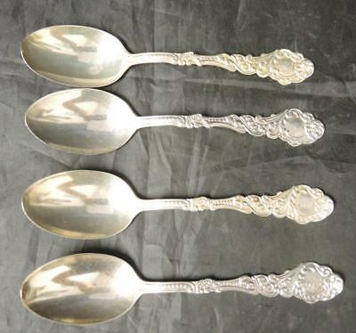 Four 1890s Gorham Sterling Fruit * Orange Spoon - Marie Antoinette