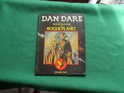 Vintage 1980 Dan Dare pilot of the future, Rogue Planet volume Two
