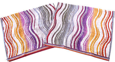 Missoni Home Limited Edition Peggy 159 Set Due Ospiti  Two Hand Towels Set