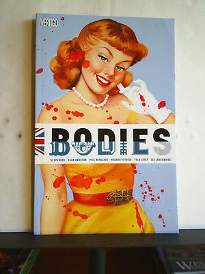 GRAPHIC NOVEL: BODIES by SI SPENCER  Paperback 2015 1st print