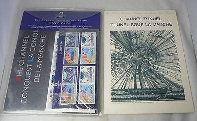 Royal Mail Channel Tunnel Collection Stamp Gift Pack
