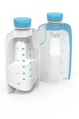 Kiinde Twist Pouches Breastmilk Storage Bags 40 pack
