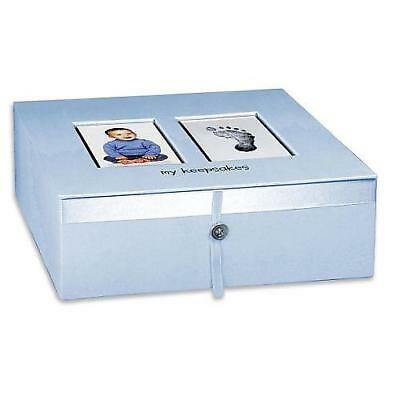 Koala Baby Baby Imprints Keepsake Box - Blue