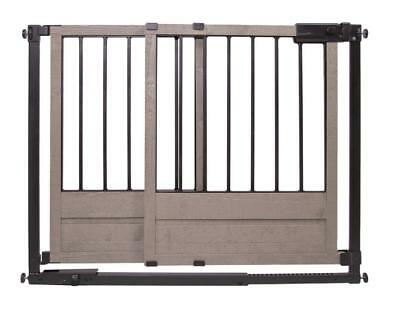 Summer Infant 29-42 inch Rustic Home Safety Gate - Espresso