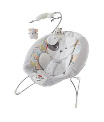 Fisher-Price Sweet Snugapuppy Dreams Deluxe Baby Bouncer