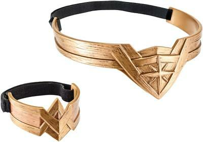 DC Wonder Woman Hero Play - Headdress and Arm Band