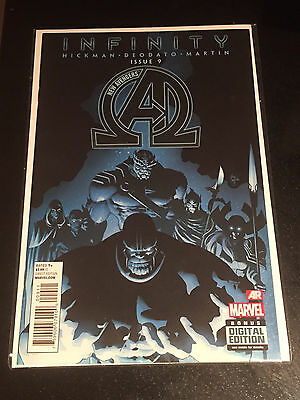 New Avengers 9 1st Full Appearance and Cover Black Order Thanos Infinity NM 2013