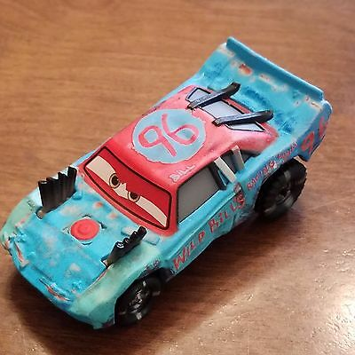 Disney Pixar World of Cars Cars 3 Fishtail Thunder Hollow 1:55 Loose No Package