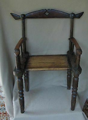 Antique Asante Ghana Chief Or Prestige Chair